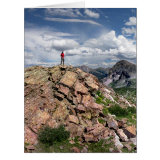 Desierto Colorado 3 de Weminuche de la divisoria Tarjeta De Felicitación Grande