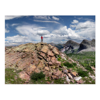 Desierto Colorado 3 de Weminuche de la divisoria Tarjetas Postales