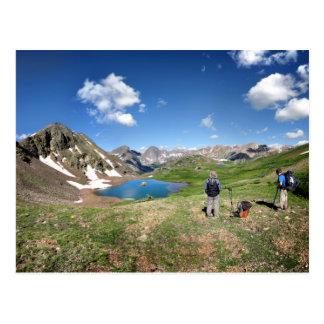 Desierto Colorado 4 de Weminuche de la divisoria Tarjetas Postales