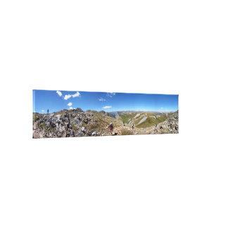 Desierto Colorado de Weminuche de la divisoria Lona Estirada Galerías