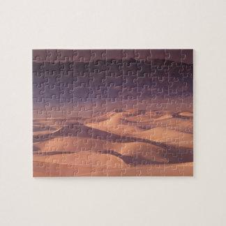 Desierto de Asia, Mongolia, Gobi, Gobi Gurvansaikh Rompecabeza Con Fotos