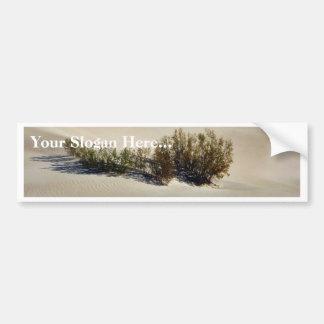 Desierto de las dunas pegatina de parachoque