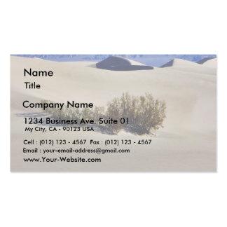 Desierto de las dunas tarjeta de negocio