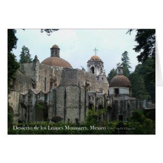 Desierto de los Leones Monastery Card