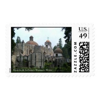 Desierto de los Leones Monastery Postage Stamp