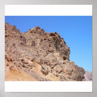 Desierto de Mojave, el condado de Inyo California Póster