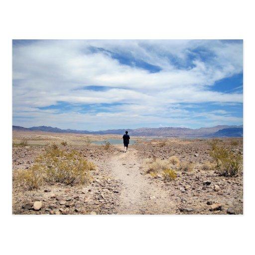 Desierto de Mojave/el lago Mead Postal
