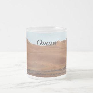 Desierto de Omán Taza De Cristal