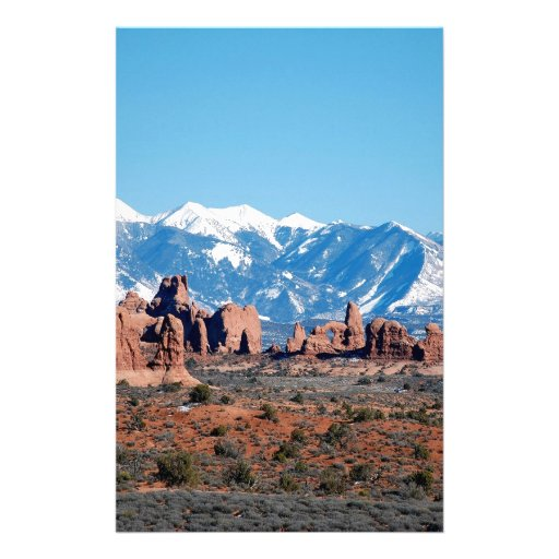 Desierto de Rockys de la montaña Papeleria