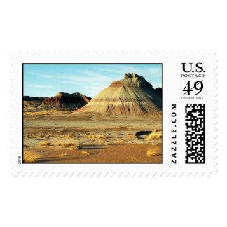 Desierto del bosque aterrorizado - sello grande