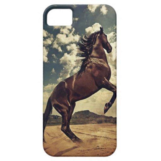 Desierto del caballo salvaje iPhone 5 cobertura
