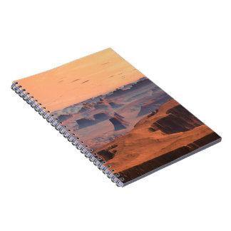 Desierto del cuaderno del SciFi de Kytherial del p