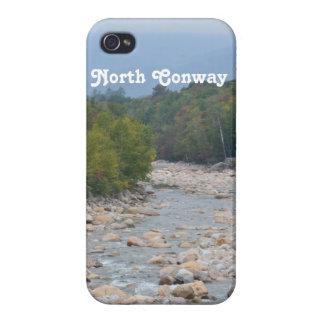 Desierto del norte de Conway iPhone 4 Carcasas
