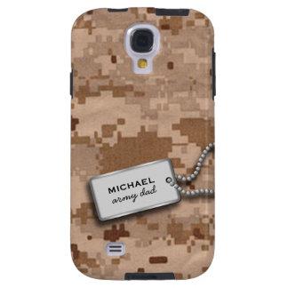 Desierto Digital Camo de Brown y del moreno Funda Para Galaxy S4