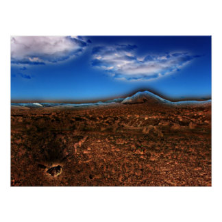 Desierto encantado póster