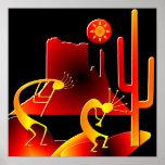 Desierto Kokopelli Posters