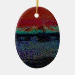 Desierto mágico 8 ornamento para arbol de navidad