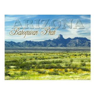Desierto máximo de Baboquivari, Arizona Postal