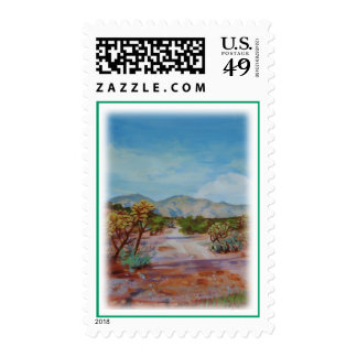 'Desierto Path Timbres Postales