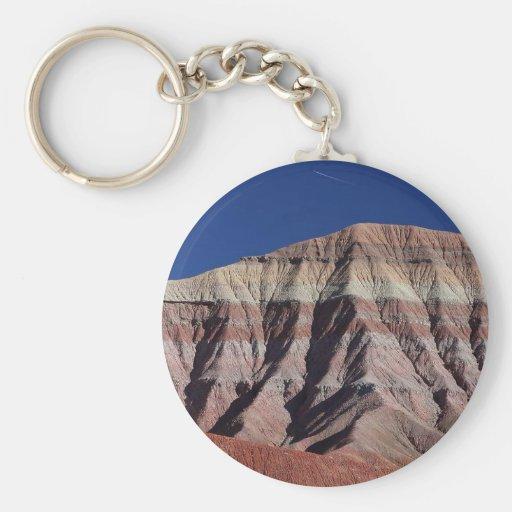 Desierto pintado al norte de la asta de bandera llavero