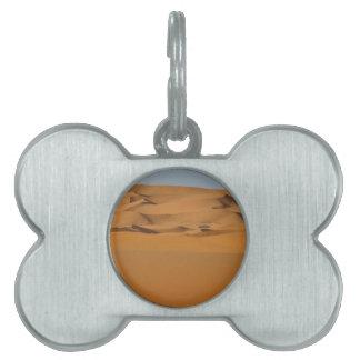Desierto Placa Mascota