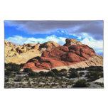 Desierto rojo Placemat de la roca Mantel Individual