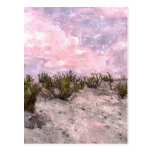 Desierto rojo postal