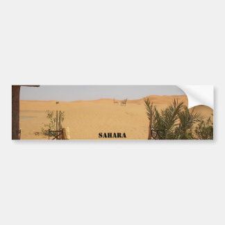 desierto Sáhara Pegatina De Parachoque
