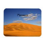 Desierto sahariano en imán del premio de Marruecos