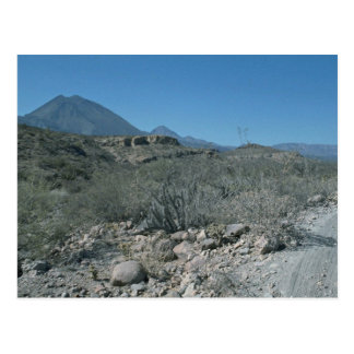 Desierto seco postales