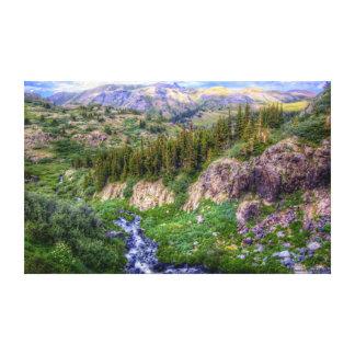 Desierto Vista de Weminuche Impresiones En Lona Estiradas
