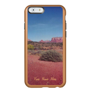 Desierto Vista personalizada Funda Para iPhone 6 Plus Incipio Feather Shine