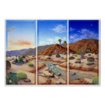 Desierto Vista Posters