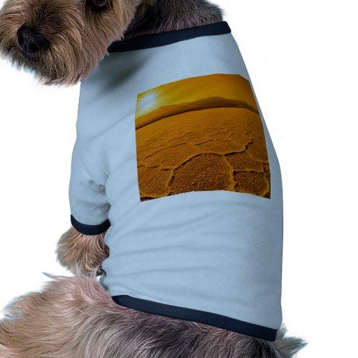 Desiertos Death Valley sediento Camiseta De Perro