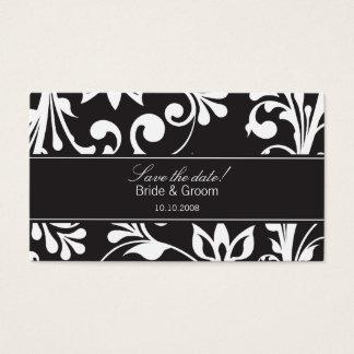 DESIGN 03 Colour: Black Business Card