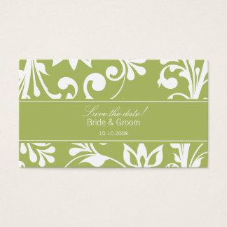 DESIGN 03 Colour: Green Business Card