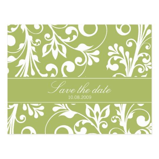 DESIGN 03- Colour: Green Postcard