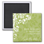DESIGN 03 Colour: Green Refrigerator Magnet