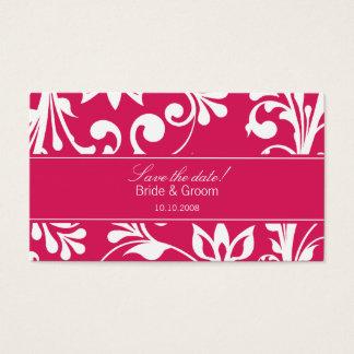 DESIGN 03 Colour: Pink Business Card