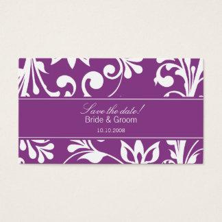 DESIGN 03 Colour: Purple Business Card