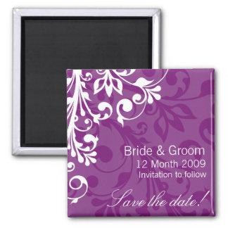 DESIGN 03 Colour Purple Magnet