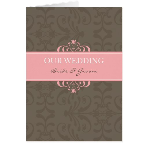DESIGN 04- Colour: Pink & Chocolate Card