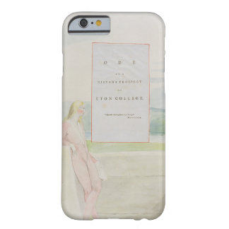 Design 13 for 'Ode on a Distant Prospect of Eton C Barely There iPhone 6 Case