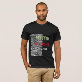 Design 1: Chrome Spider , Design 2 Infected Destro T-Shirt