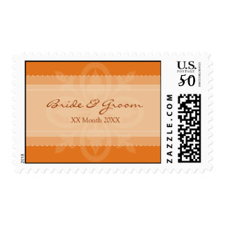 DESIGN 1 - MANDARIN Bride & Groom stamp