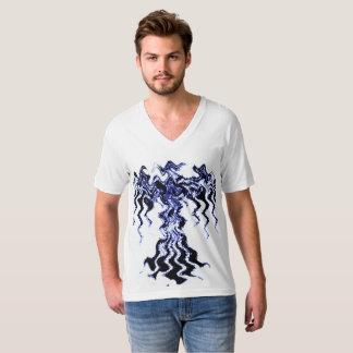 Design #1 Men's American Apparel Fine Jersey V-nec T-Shirt