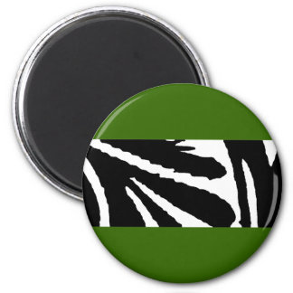 Design 2010-1 Black Greenville The MUSEUM Zazzle 2 Inch Round Magnet