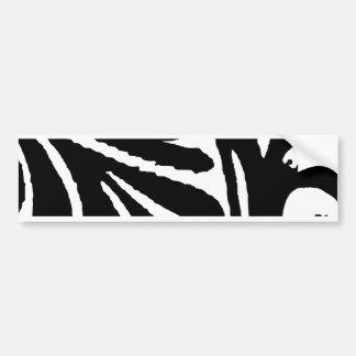 Design 2010-1 Black Greenville The MUSEUM Zazzle Bumper Sticker
