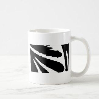 Design 2010-1 Black Greenville The MUSEUM Zazzle Classic White Coffee Mug