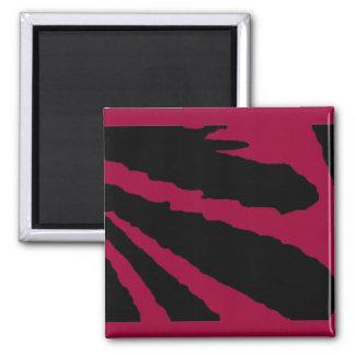 Design 2010-1 Black Transp Greenville The MUSEUM Z 2 Inch Square Magnet